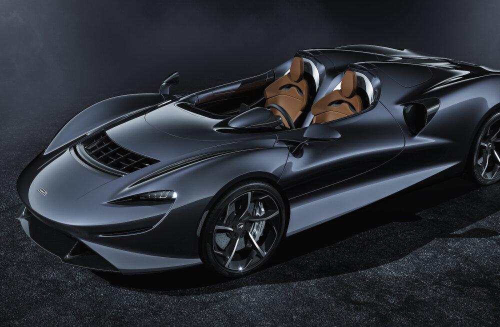"""McLaren tutvustas õhust """"tehtud"""" esiklaasiga autot"""