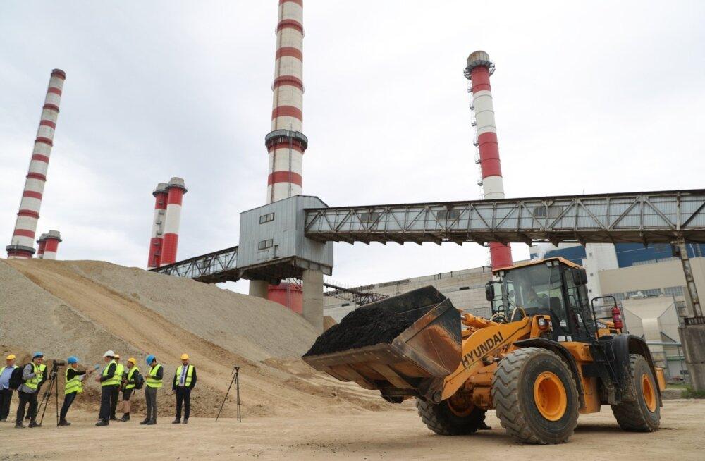 Eesti Energia rehvihakkest õlitootmine