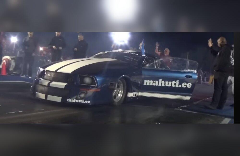 VIDEO | Uskumatu kiirus! Eesti kiirendusvõistleja tegi USA-s ajalugu
