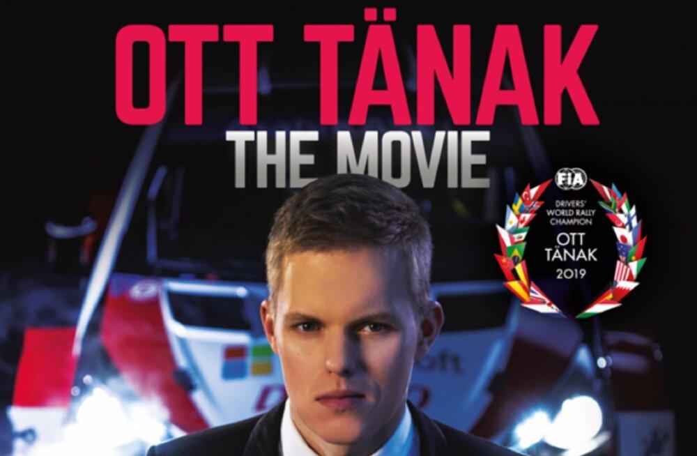 """Jõulueelsel nädalal ilmub """"Ott Tänak – The Movie"""" duubel-DVD koos raamatuga"""