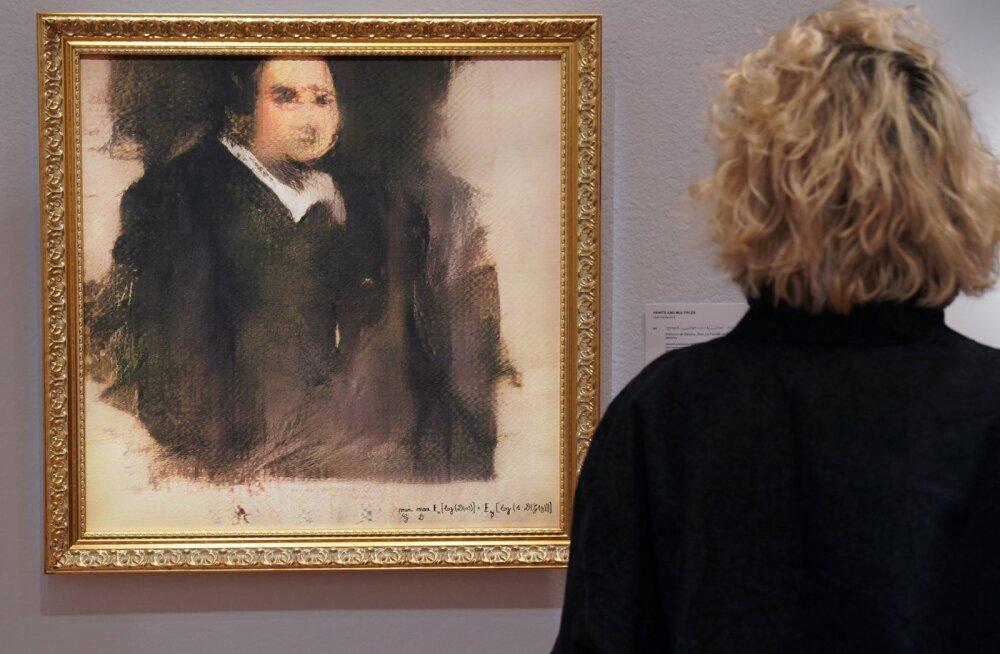 Созданную искусственным интеллектом картину продали за 432 тысячи долларов