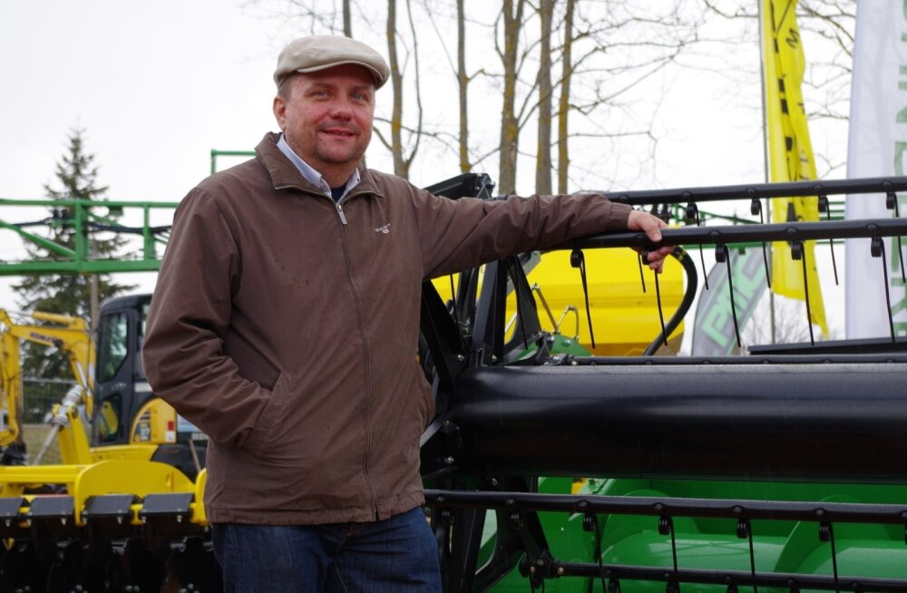 Tänavuse viljelusvõistluse esimene registreeruja Karl Åberg sai seekord mahti ka Maamessile minna. Tavaliselt käib messi ajal kibe külvitöö.