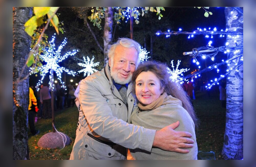 Mark Livin abikaasaga