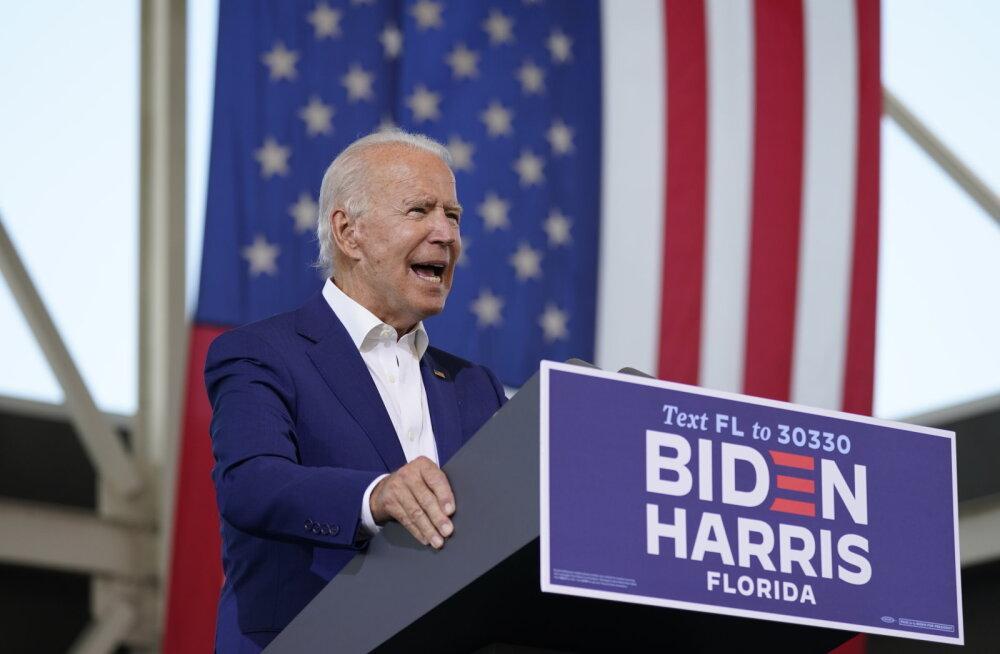 Biden püüdis võluda Florida pensionäre: ainus eakas, kellest Trump hoolib, on ta ise