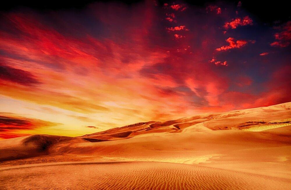 Эстонию во вторник накроет пылевое облако из пустыни Сахара