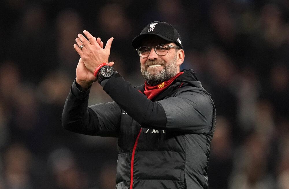 Liverpooli tiitlilootused said hoogu juurde: Premier League võib juunis jätkuda