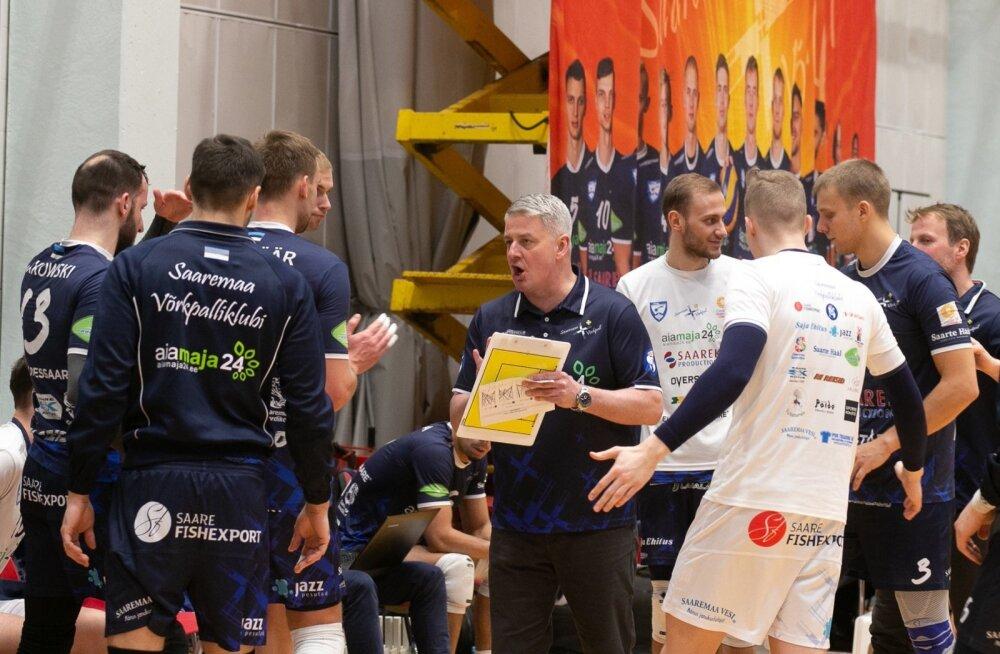 ‹Saaremaa ja Parnu vk poolfinaal Kuressaares
