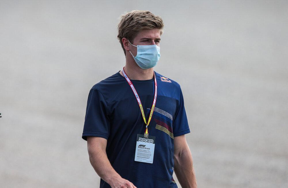 FOTOD JA VIDEO | Jüri Vips tegi koos eelmise F1 etapi võitjaga Mugello ringrajale tiiru peale