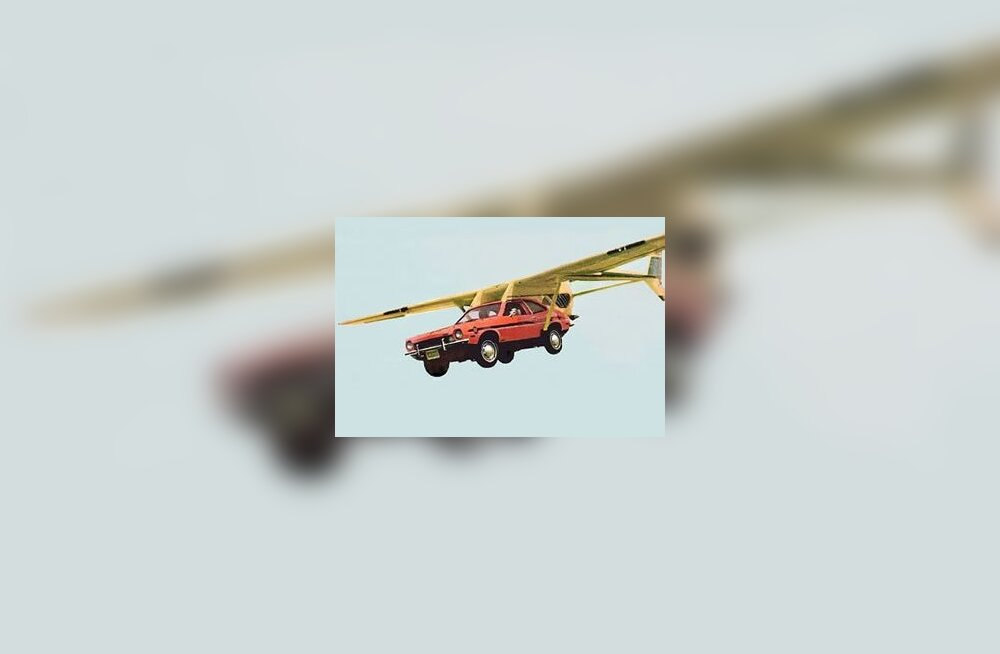Sõna otseses mõttes tiibadega auto - AVE Mizar