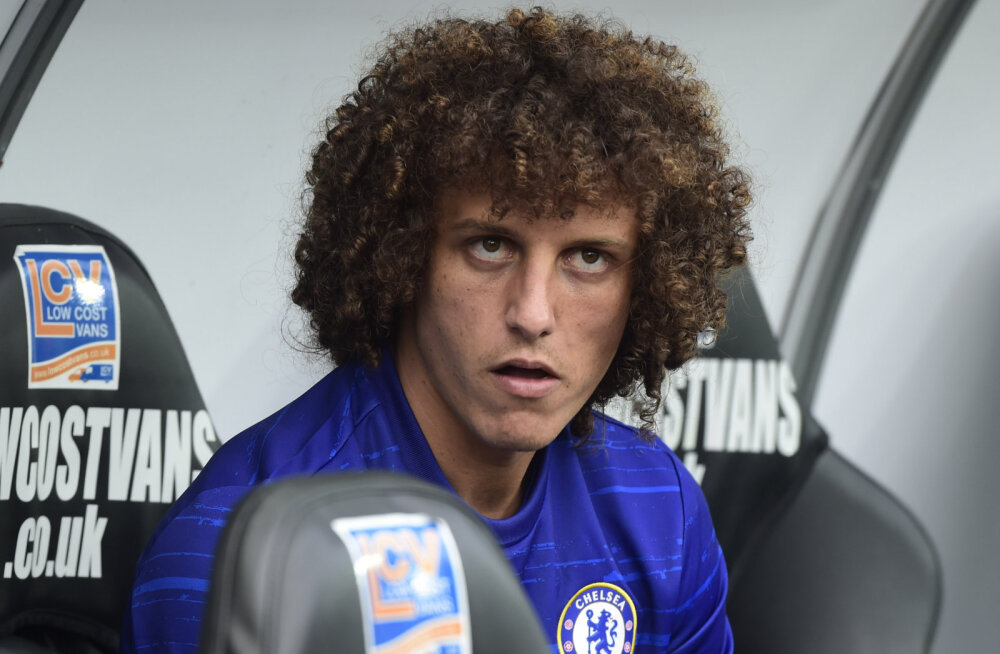 David Luiz teeb reedel Liverpooli vastu Chelseas comebacki
