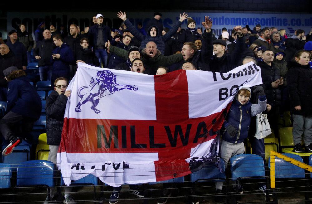 VIDEOD   Tottenham ja Everton kukkusid FA Cupil konkurentsist, fännid korraldasid Londonis massikakluse