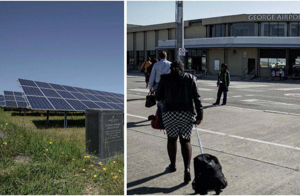 Aafrikas avati mandri esimene päikeseenergial töötav lennujaam