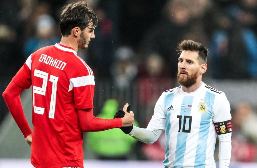 Venemaa vs Argentina