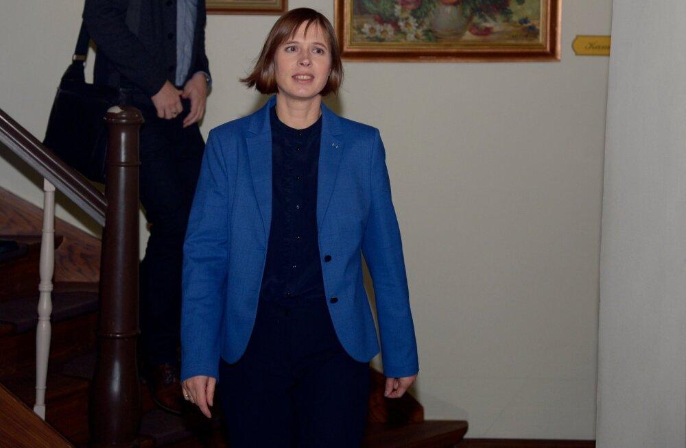 Kersti Kaljulaid: heategevust ei ole Eestis veel piisavalt palju võrreldes arenenumate ühiskondadega