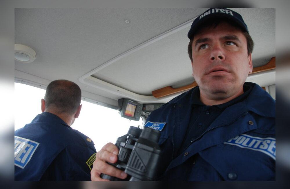 POLITSEIBLOGI: Veepolitsei peatas Pärnu jõel joobes kalakaupmehe
