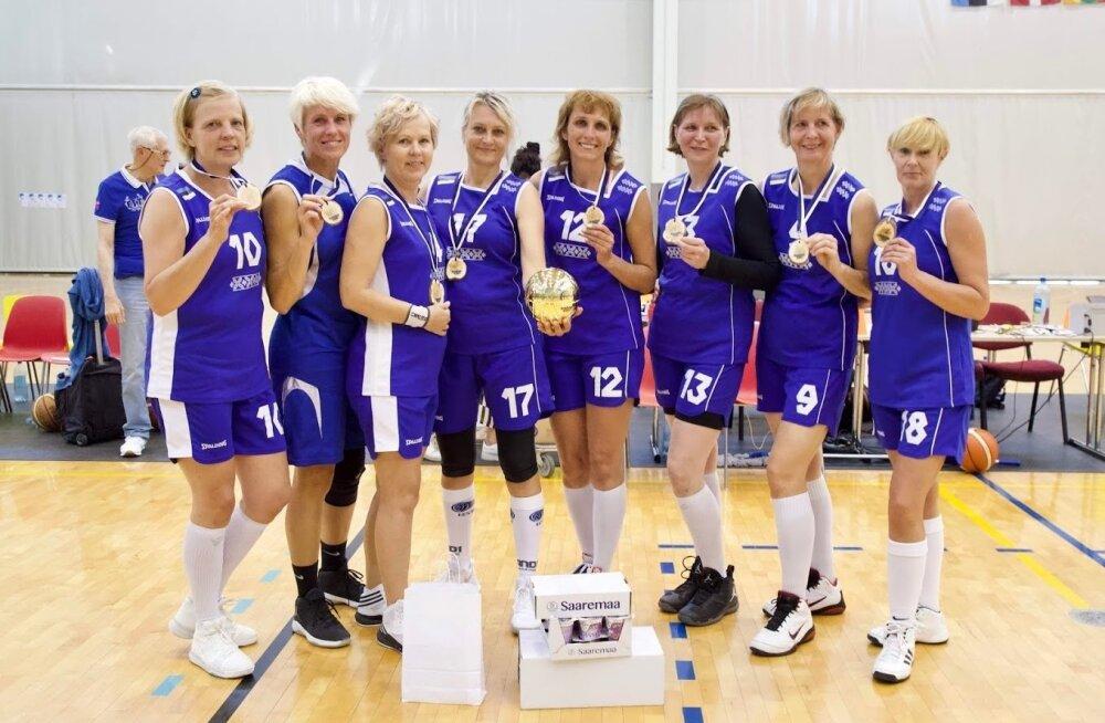 MBL Estonia võidukas naiskond