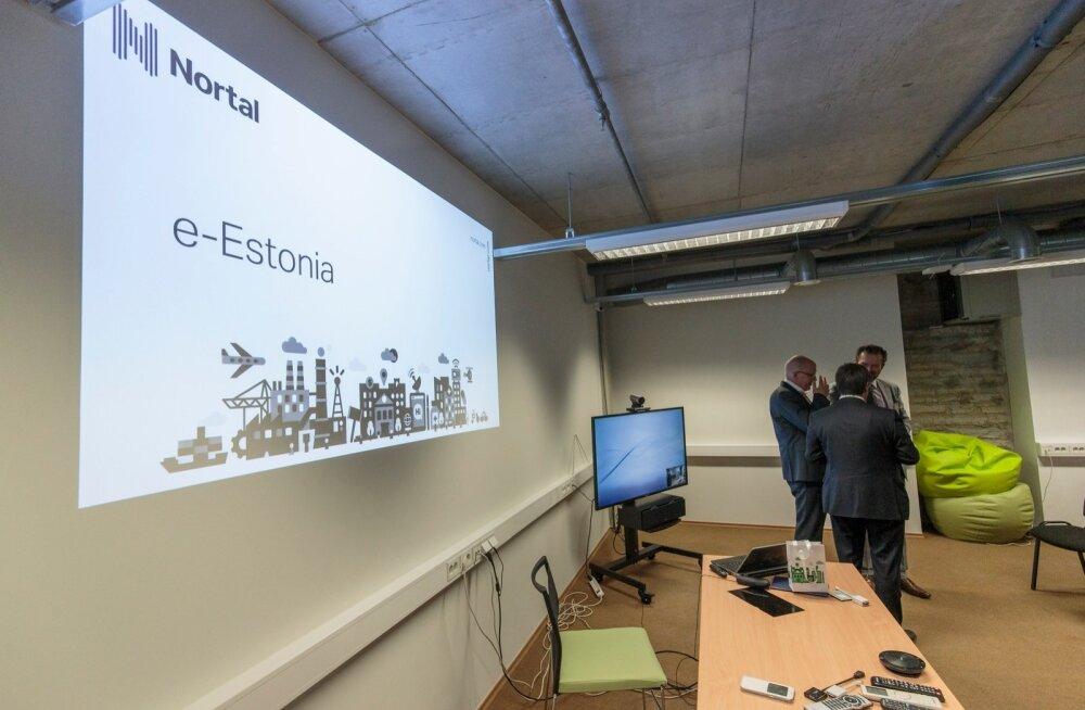 Saksamaa Nordrhein-Westfaleni Liidumaa parlamendi Kristlik-Demokraatliku Liidu fraktsiooni 64-liikmeline delegatsioon külastab Tallinnas tarkvara- ning ärikonsultatsioonide ettevõtet Nortal