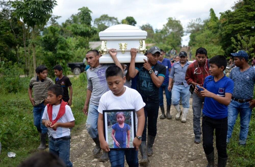 Seitsmeaastane Jakelin Caal maeti sel nädalal Guatamalas kodukülas.
