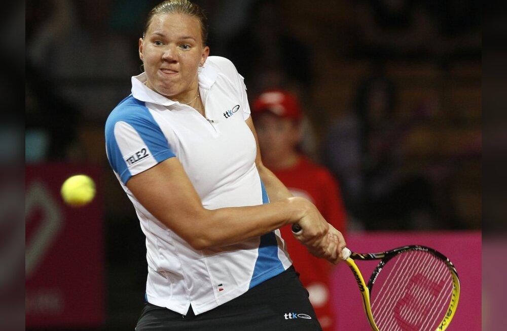 Kanepi kerkis tennise maailma edetabelis 79. kohale