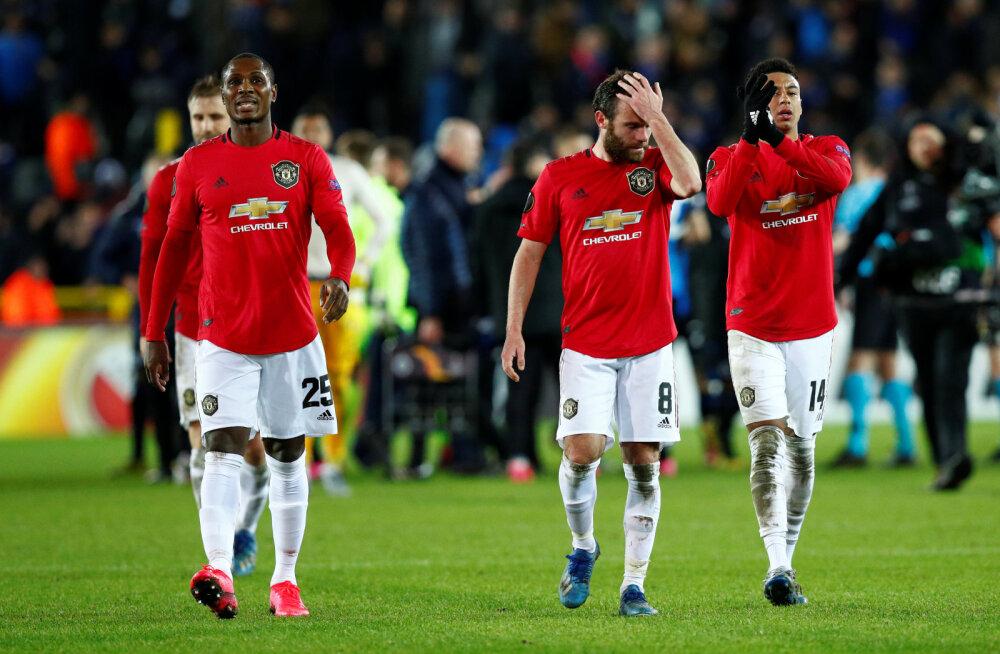 Euroopa liiga: Manchester United võitles välja viigi, Inter alustas võidukalt