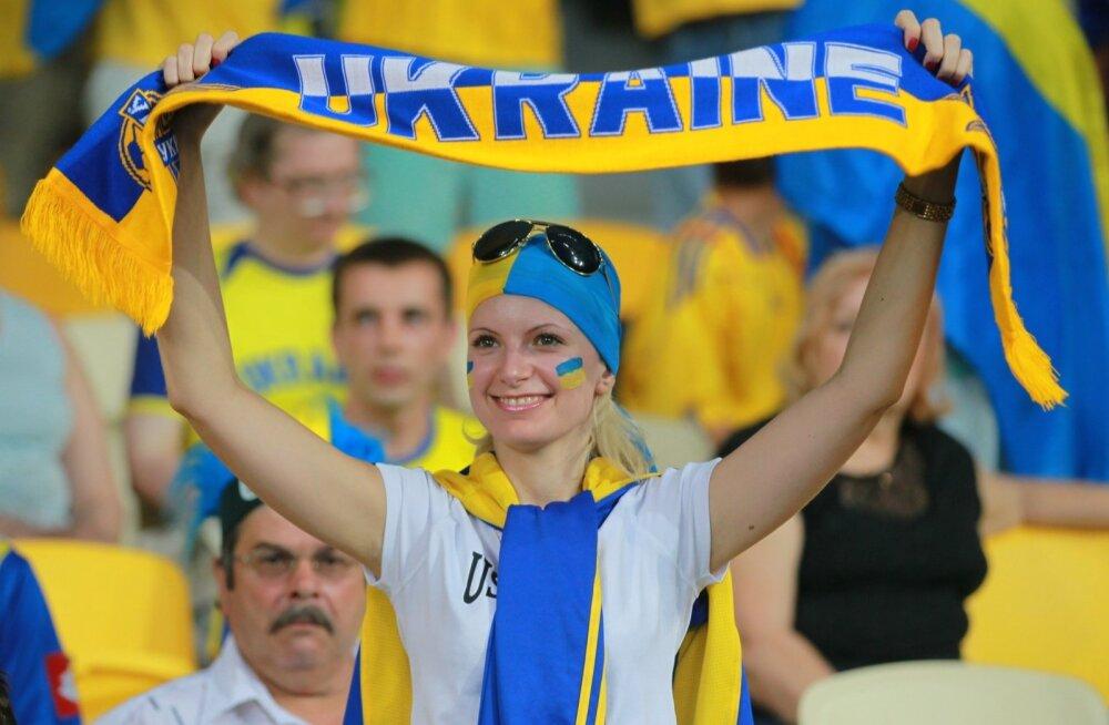 Football Euro 2012. Ukraine vs. Sweden