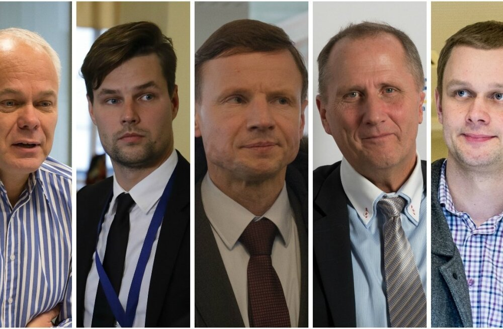 Toomas Kivimägi, Kalle Palling, Aivar Sõerd, Valdo Randpere ja Remo Holsmer