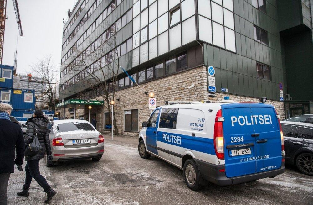 Tulistamine Metropoli hotellis