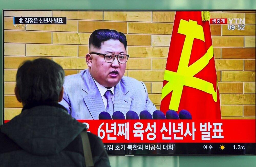 Kim Jong-un: tuumanupp on mul alati laual