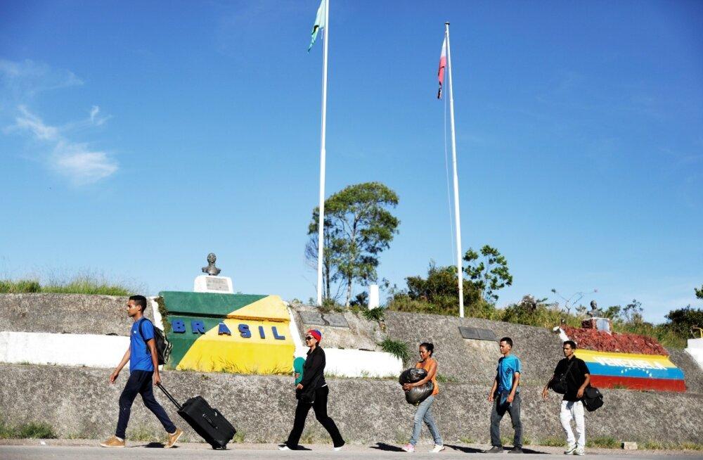 Brasiilia sulges Venezuela kriisi eest põgenevatele inimestele oma piiri