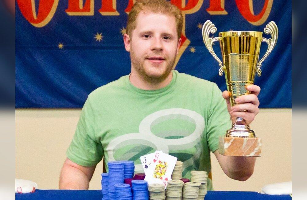 Pärnu pokkerimeistriks tuli ameeriklane