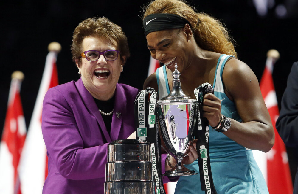 Billie Jean King ja Serena Williams