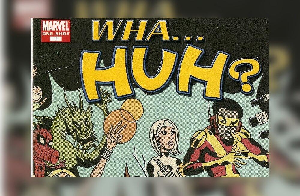 Marveli koomiksiraamatu kaas. theweeklycrisis.com