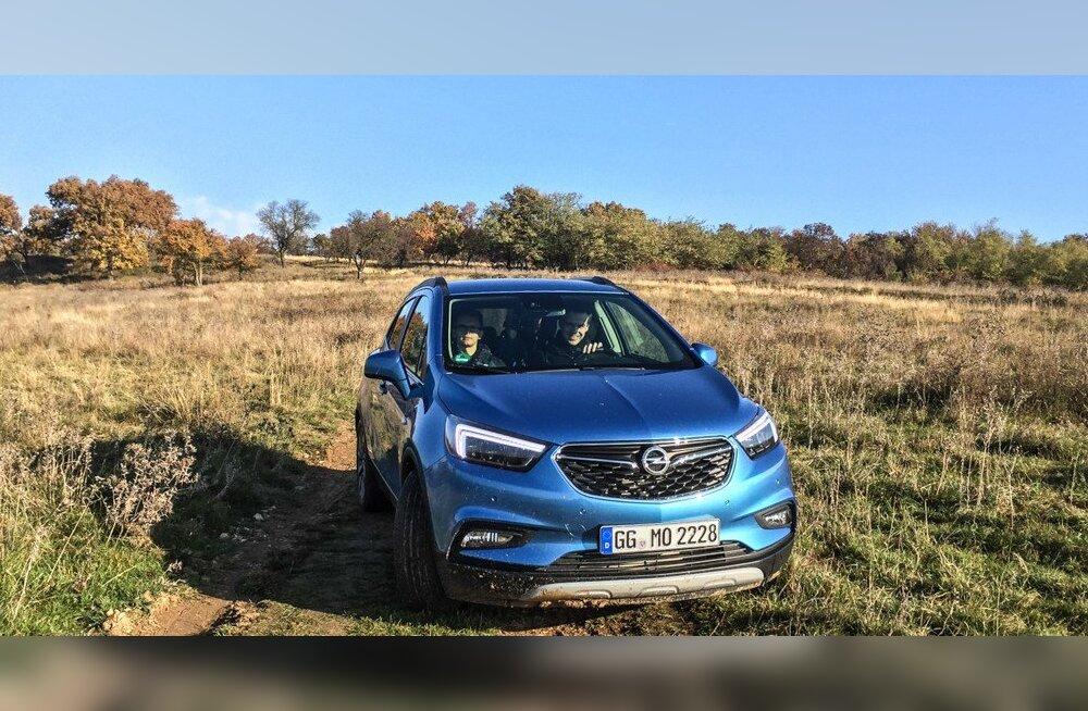 Proovisõit: Opel Mokka X, pädev sõiduvahend nii linna- kui ka maaperele