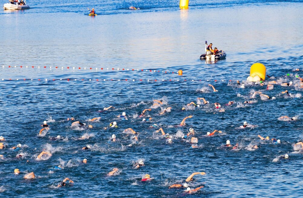 Lahtis toimunud Ironmani triatlonil suri osaleja