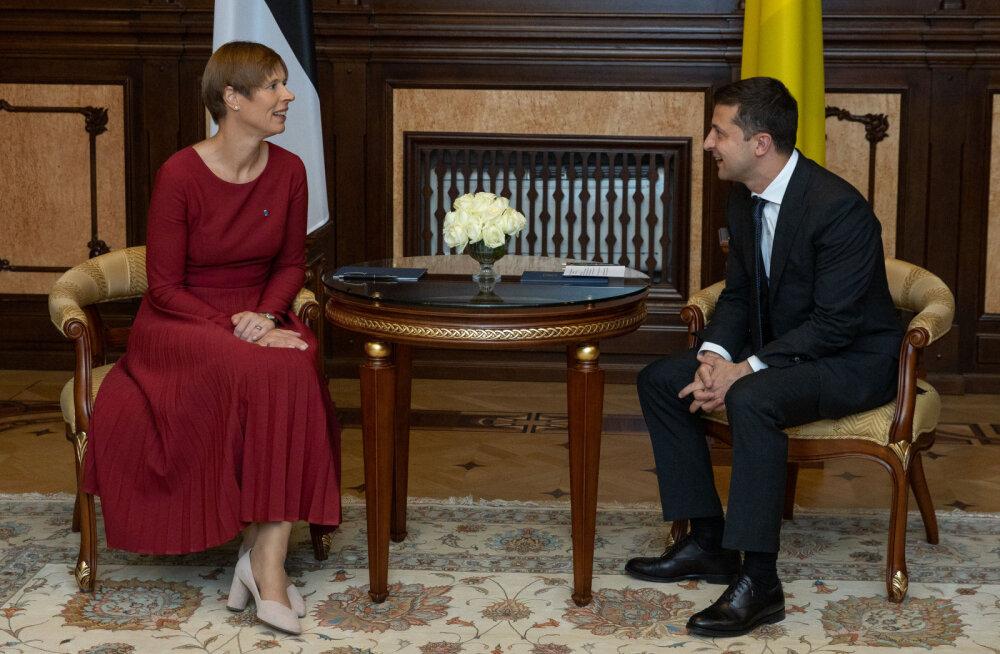 Ukraina president Zelenskõi kavatseb järgmisel kuul Eestisse ametlikule visiidile tulla