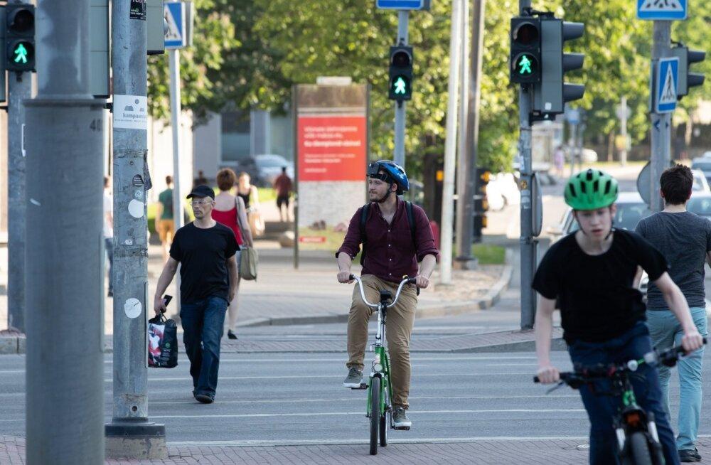 Jalgratas liikluses