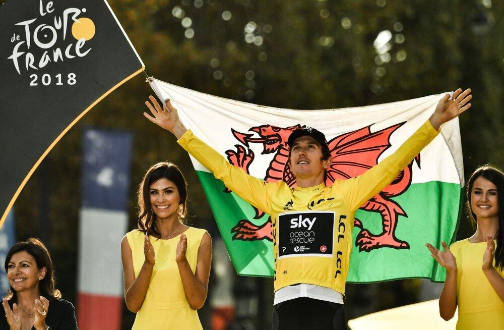 VIDEO | Geraint Thomas võitis esmakordselt Tour de France'i