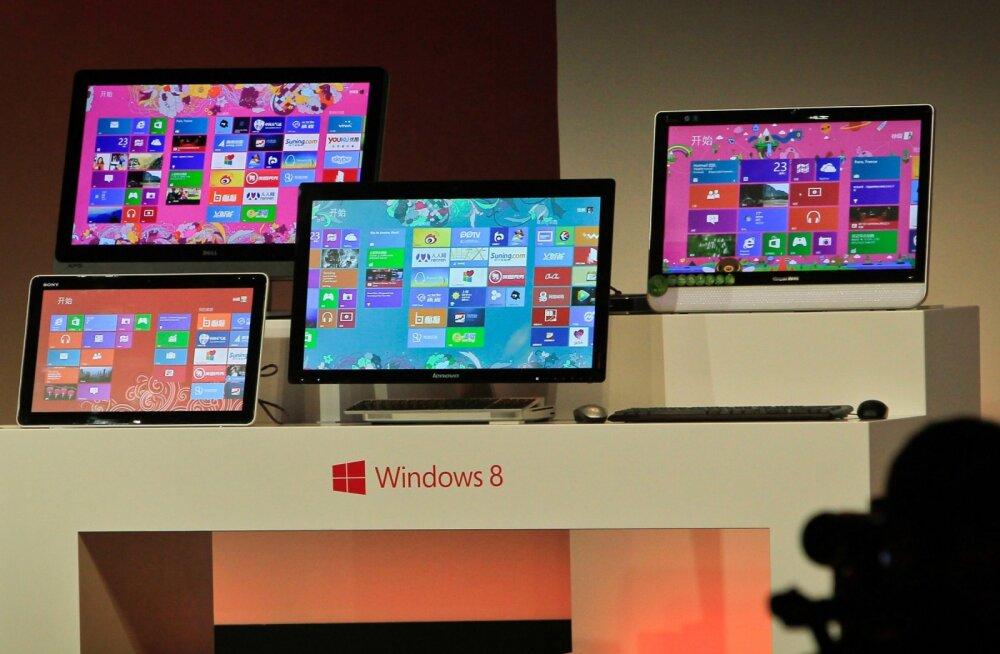 Windows 8 ajaloo prügikasti: Microsoft ei toeta enam oma vihatuimat opsüsteemi pärast Vistat
