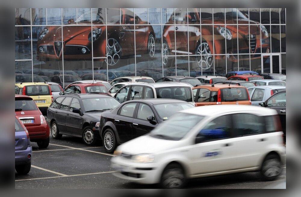 Euroopa autotehastest on praegu kahjumis koguni 58 protsenti