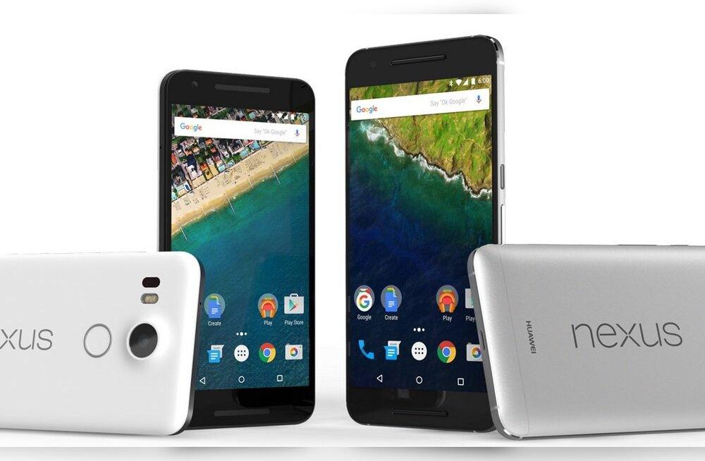 Google'i suurüritus: kaks uut Nexuse nutitelefoni, kaks uut Chromecasti, esimene Nexuse tahvel...