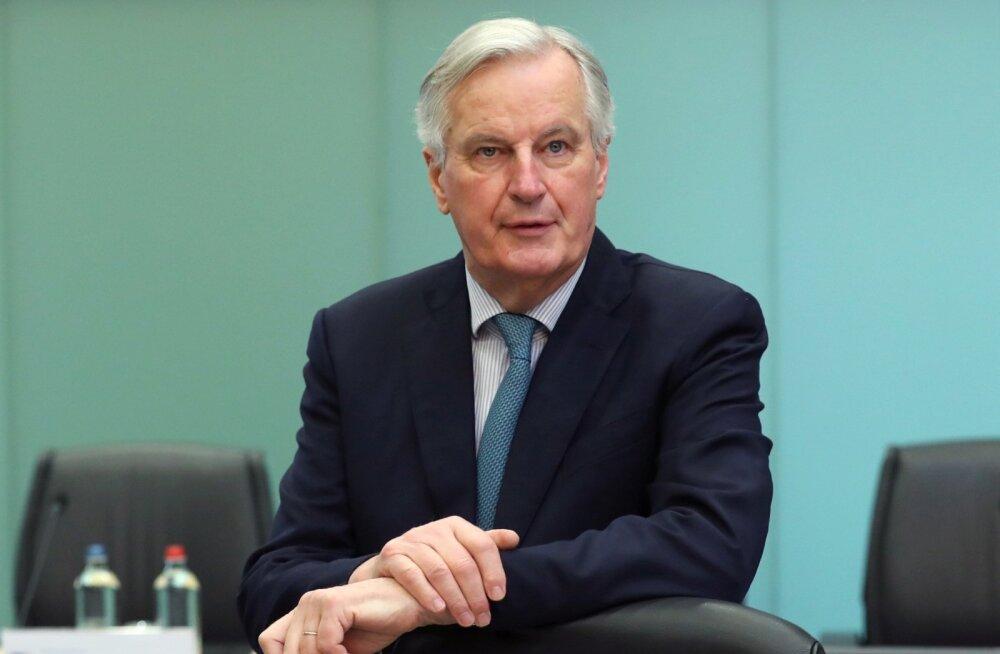 EL-i pealäbirääkija Barnier: Brexiti-läbirääkimised toimuvad nüüd Briti valitsuse ja parlamendi vahel