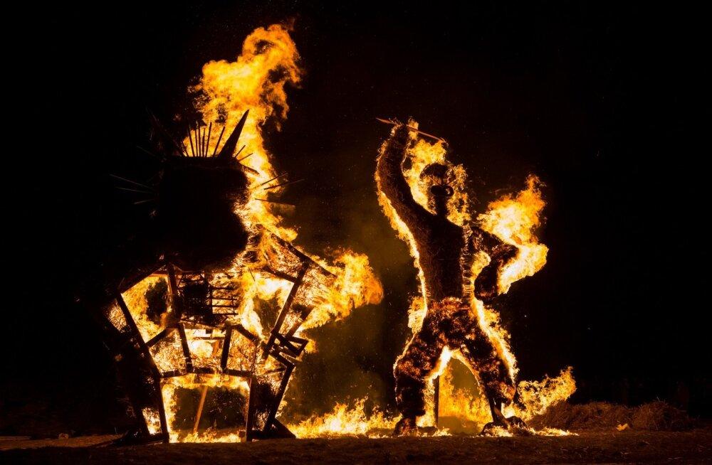 Tuleskulptuurid Lasnamäel