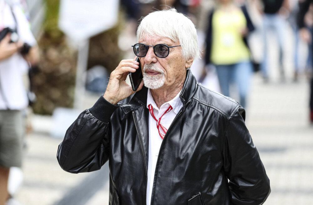 Rassismis süüdistatud Bernie Ecclestone'i ähvardab vormel 1 etappide külastamise keeld