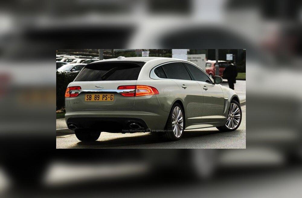 VIDEO: Jaguar esitleb Genfis XF Sportbrake mudelit