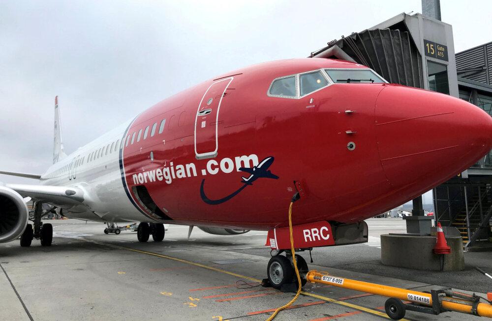 Koroonaviiruse laastamistöö börsidel: lennukompaniide aktsiad kukuvad, Norwegian vabalanguses