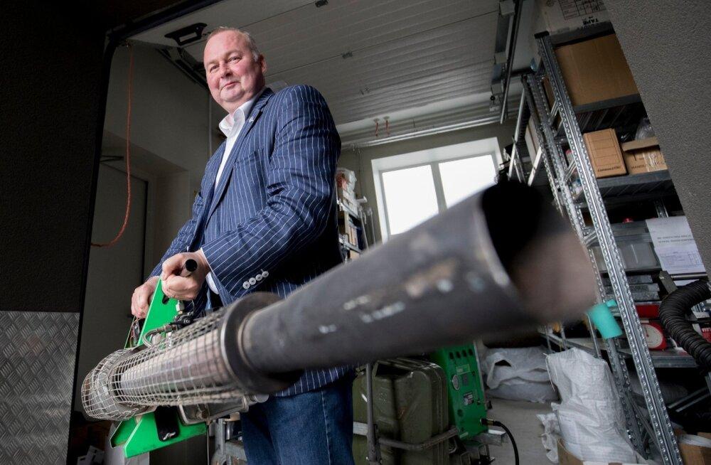 Toomas Trei sõnul tuleks kahjuritõrje jätta spetsialistide hooleks: kodustest aerosoolidest ja geelidest sageli prussakate hävitamiseks ei piisa.