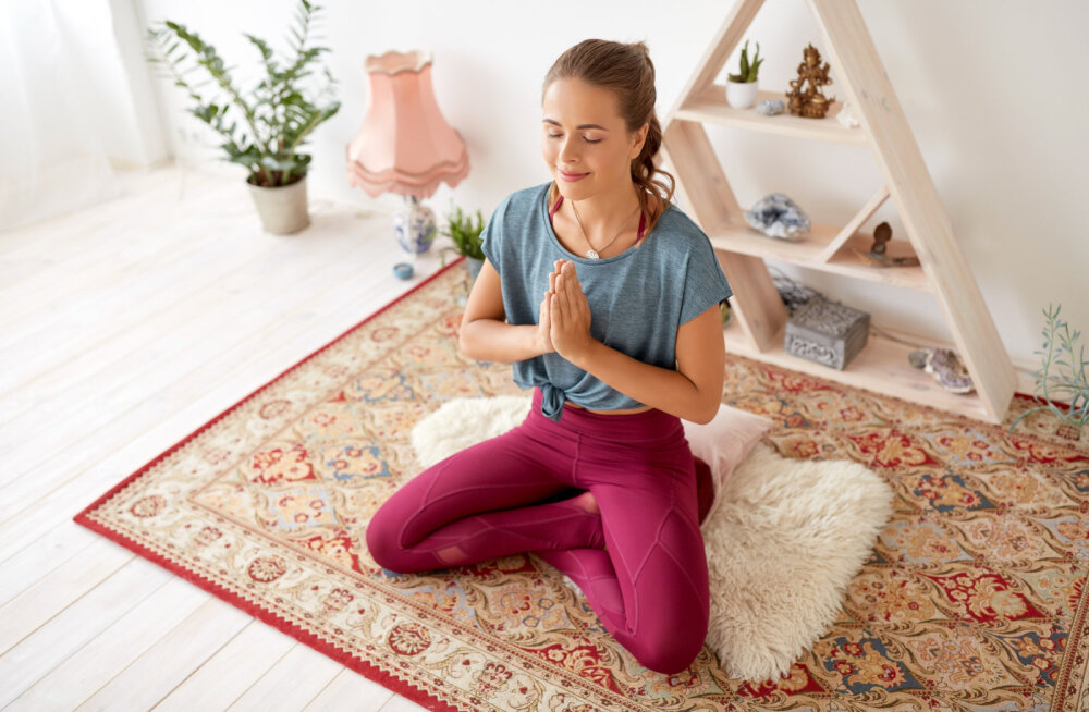 Jooga aitab tulla toime stressi, viha, himu, kurbuse ja paanikaga