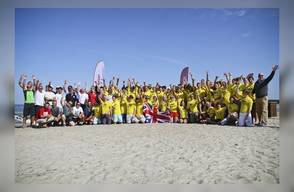 NeilPryde Euroopa noorte meistrivõistlustel Tallinnas hetkel kindlad favoriidid!