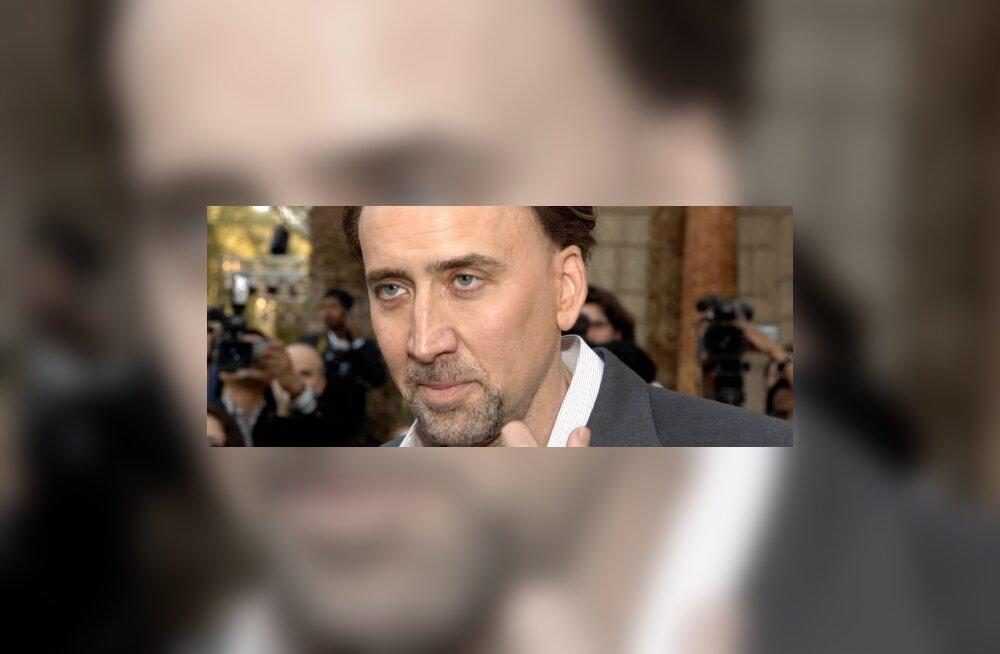 Võlumaailm ei soosi Cage'i uut filmi, foto Houda Ibrahim, AFP