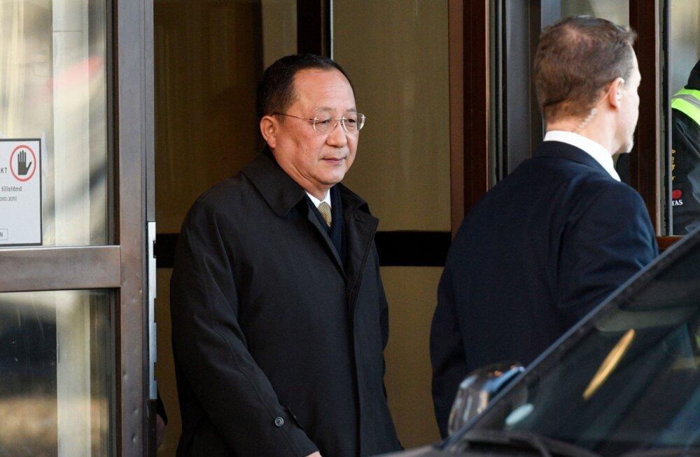 Põhja-Korea välisminister käis eile Rootsis. Kas Trump ja Kim kohtuvad Stockholmis?